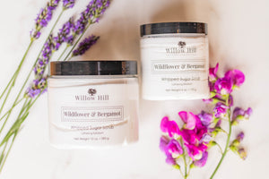 Wildflower & Bergamot Whipped Sugar Scrub
