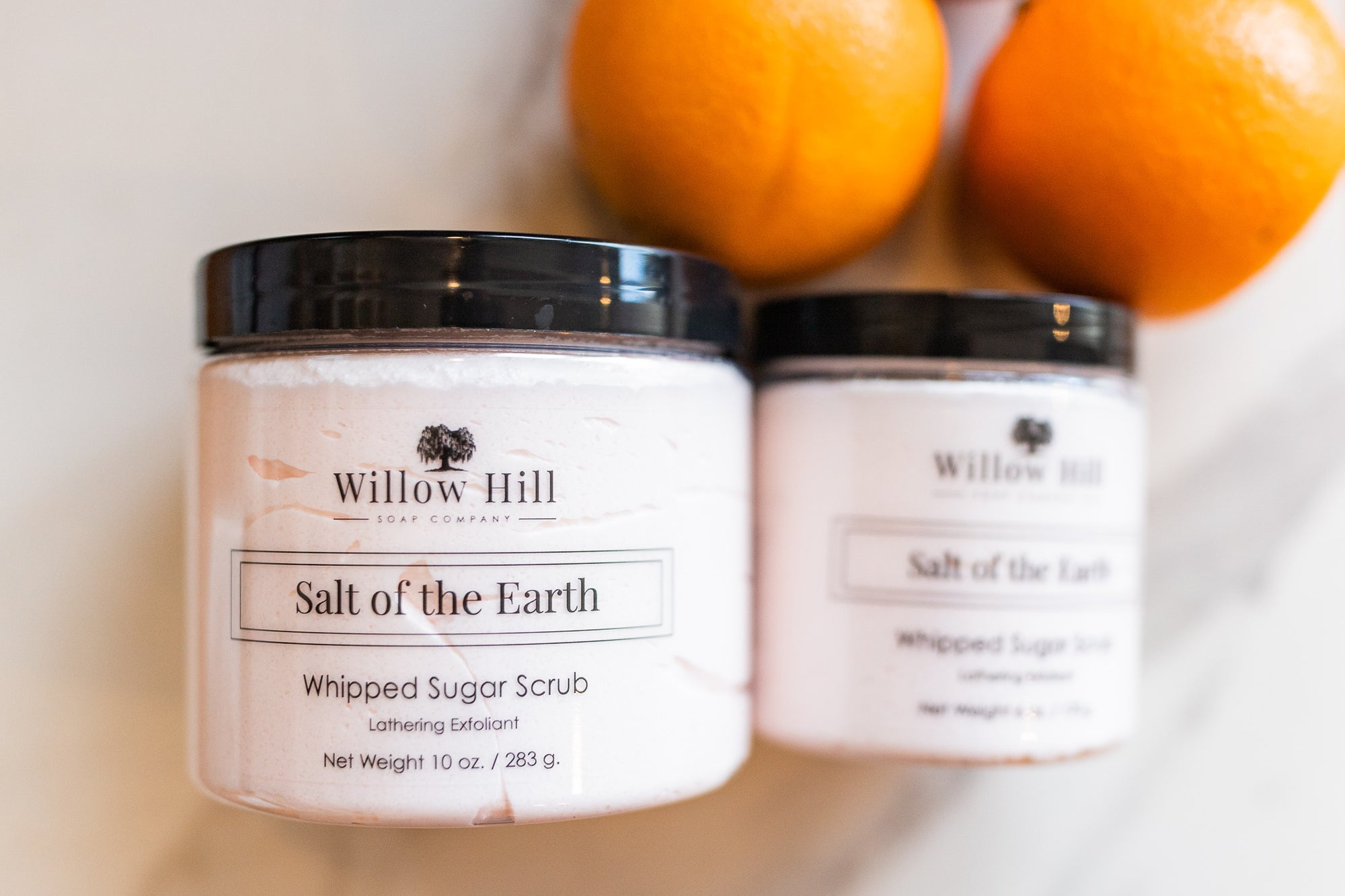 Salt of the Earth Whipped Sugar Scrub