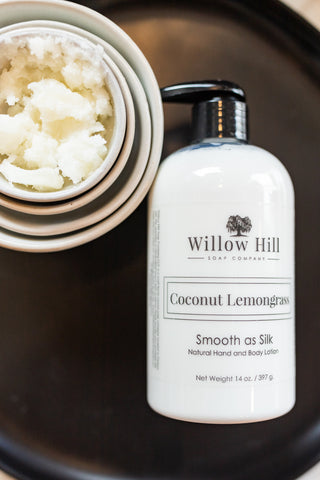 Coconut Lemongrass Lotion