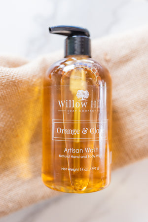 Orange and Clove Artisan Wash