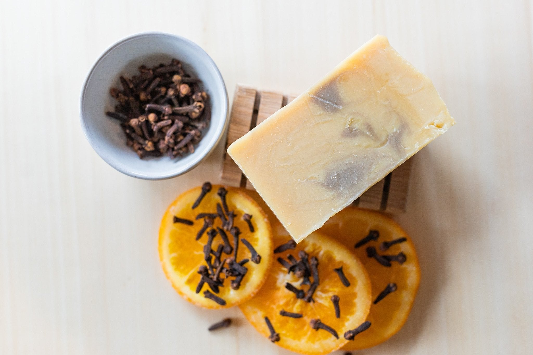 Orange and Clove Bar Soap
