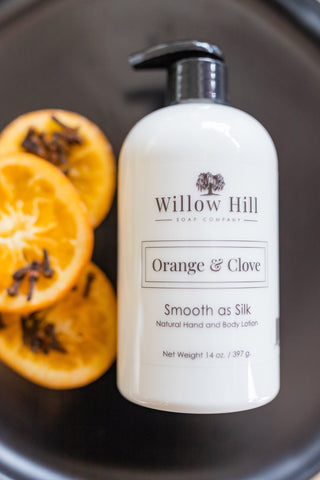 Orange and Clove Lotion