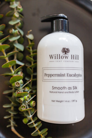 Peppermint Eucalyptus Lotion