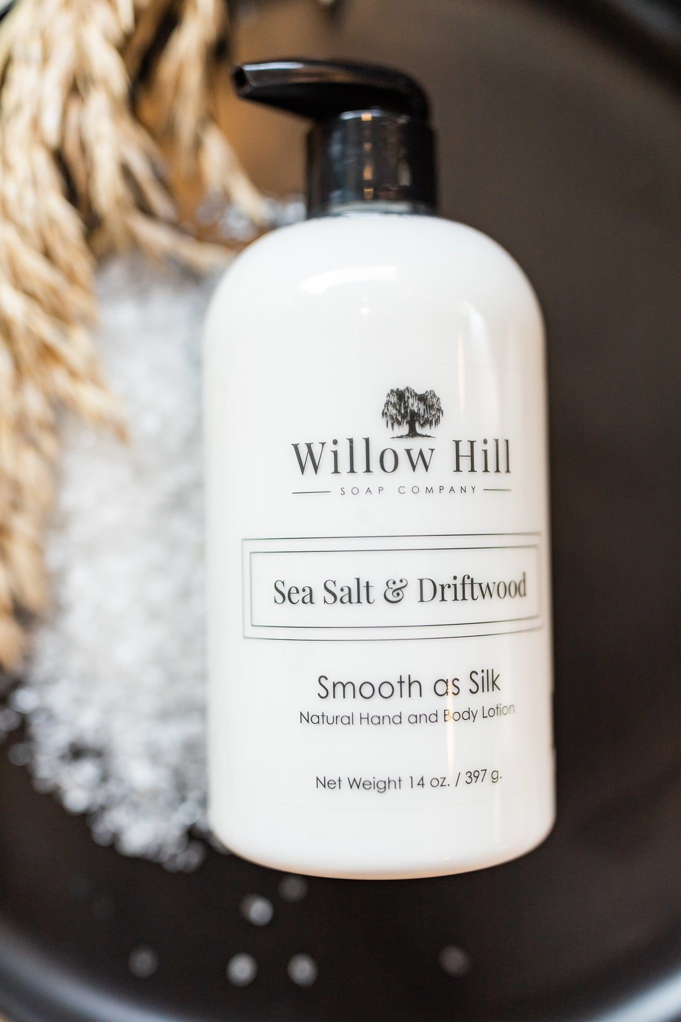Sea Salt and Driftwood Lotion