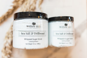 Sea Salt and Driftwood Whipped Sugar Scrub