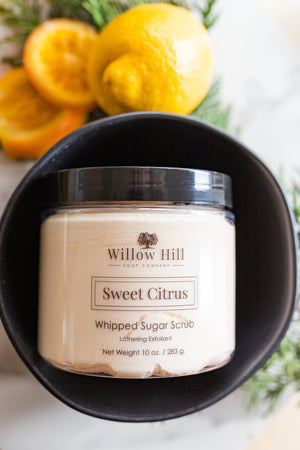 Sweet Citrus Whipped Sugar Scrub