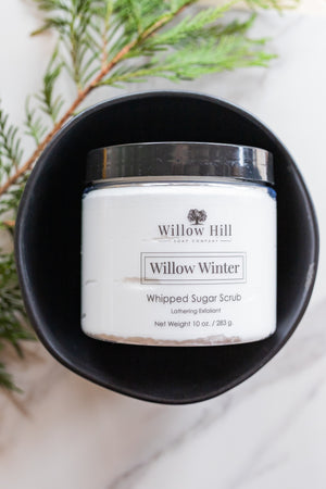 Willow Winter Whipped Sugar Scrub