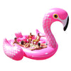 Giant Flamingo Island Float - Includes Pump & Carry Bag-Sun Pleasure Party Bird