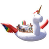 Party Bird Unicorn Island Float - Includes Pump & Carry Bag-Sun Pleasure Party Bird