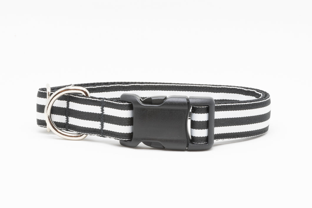 Black Stripe Standard Collar