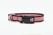 Red Striped Standard Collar