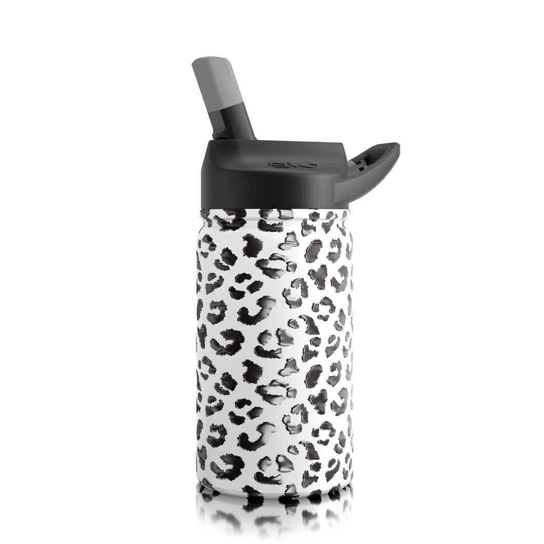 Lil SIC Leopard Stainless Steel Kids Water Bottle