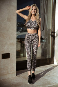 Run Wild Leopard Active Leggings