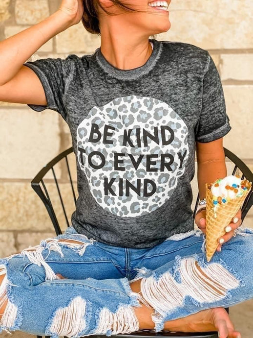 Kind to Every Kind Burnout Tee