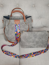 Load image into Gallery viewer, Demi Distressed Boho Bag Set