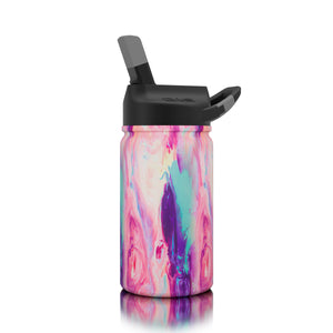 Lil SIC Cotton Candy Stainless Steel Kids Water Bottle