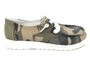 Gypsy Jazz Camo Starstruck Slip On Shoes