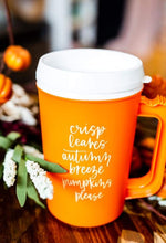 Load image into Gallery viewer, Fall Favorites Thermos Mug