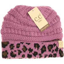 Load image into Gallery viewer, KIDS C.C Leopard Beanie- Multiple Colors