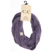 Load image into Gallery viewer, KIDS C.C Cable Knit Scarf