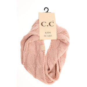 KIDS C.C Cable Knit Scarf