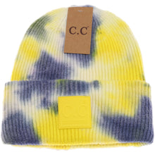 Load image into Gallery viewer, C.C Tie-Dye Beanie- 5 Colors