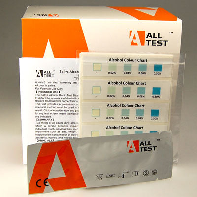 ALLTEST Breast Milk Alcohol test strips
