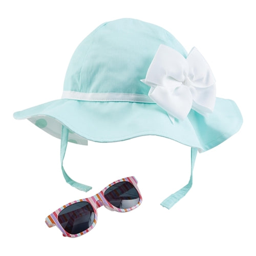 Bow Sun Hat and Glasses (Color Options)