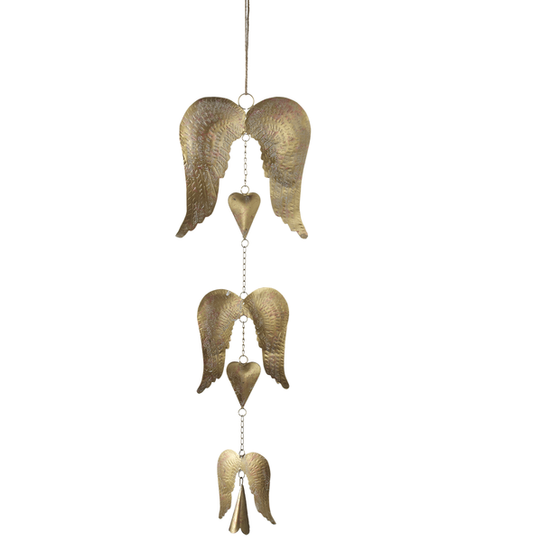 Angel Wings Wind Chime