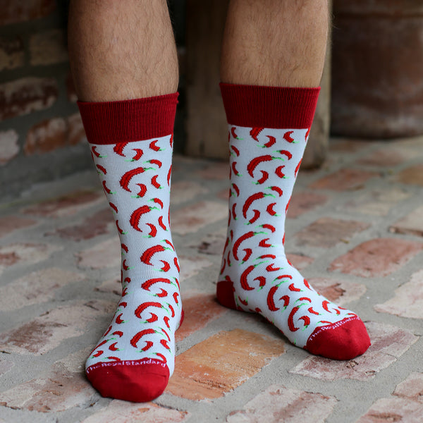 Hot Pepper Men's Socks