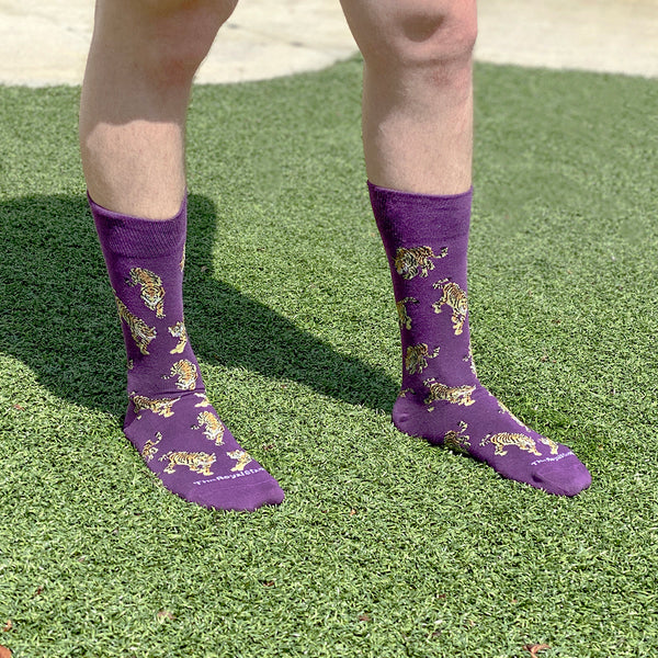 Men's Go Get Em Tiger Socks