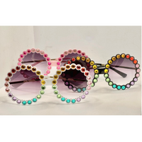 Crystal Sunnies (Multiple Colors)