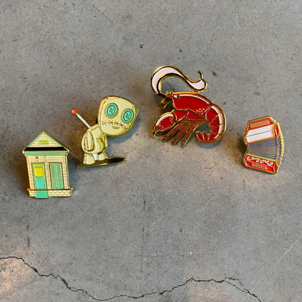 New Orleans Pins