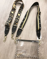 Guitar Purse Strap - Cheetah