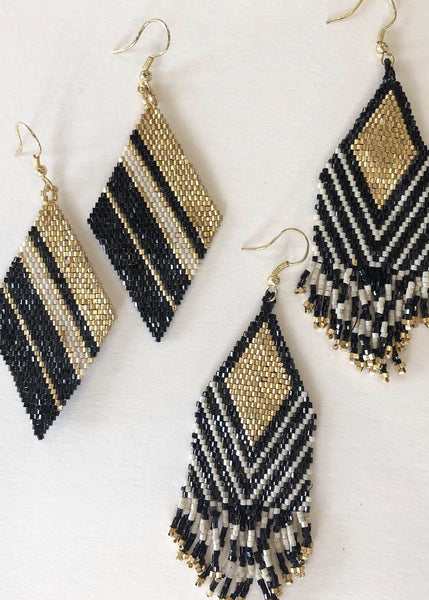 Luxe Beaded Earring