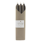 "12"" Taper Candles 6pc - Graphite"