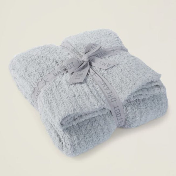 Cozy Chic Barefoot Dreams Ribbed Throw (Multiple Colors)