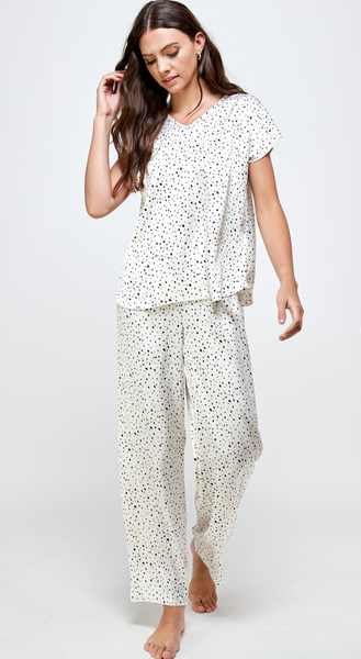 Dots Pajama Set