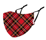 Face Mask Adult Tartan