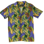 Tiger Button Down Aloha Shirt