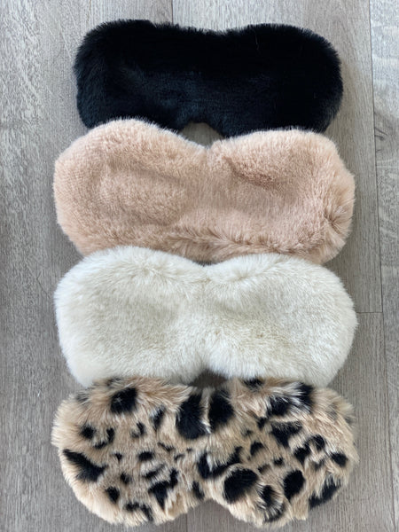Fur Sleep Mask