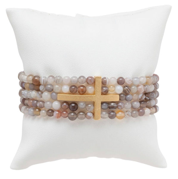 Dream Inspire 5-Strand 4mm Bead Bracelet