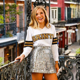 SAINTS Sparkle Sweater
