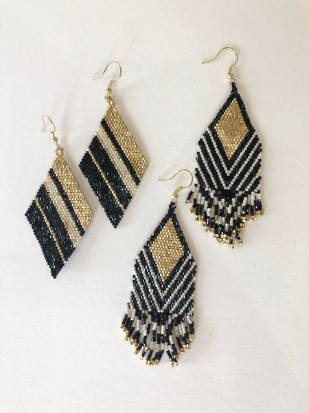 Luxe Beaded Earrings