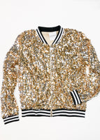 Gold Sequin Jacket