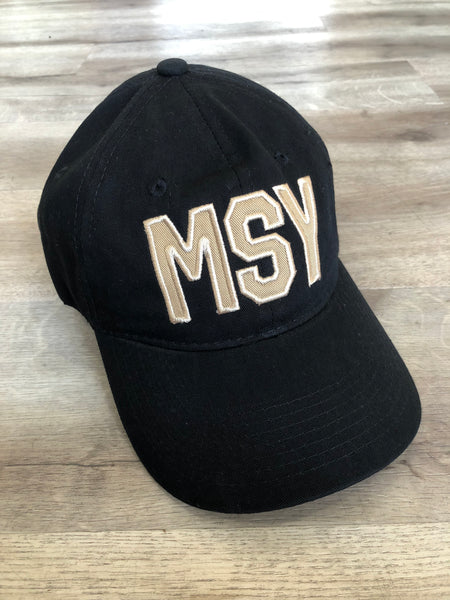 MSY Black with Gold