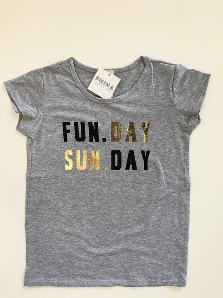 Fun Day Sun Day Kids Tshirt