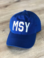 MSY Hat Royal Blue
