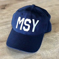 MSY Hat Navy Blue