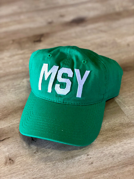 MSY Hat Kelly Green